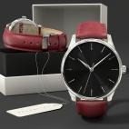 Montre sur mesure personnalisable, bracelet cuir