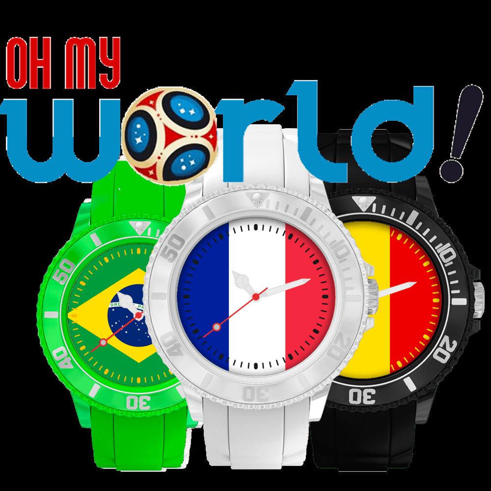 photos officielles 9c1db cc253 Personnalisez une montre avec le drapeau de votre pays ...